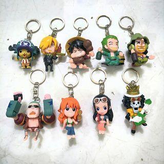 gantungan kunci one piece mini c
