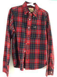 Hollister smart casual Checker shirt