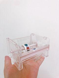 透明ins風-紙膠帶膠台