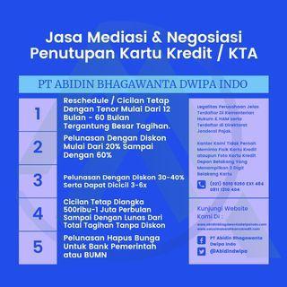 Jasa Tutup Kartu Kredit / KTA