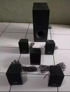 JUALSony SS-WS121 Home Theater System Speakers Subwoofer Surround