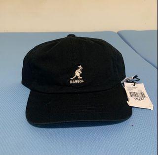 Kangol 棉布漁夫帽 黑色