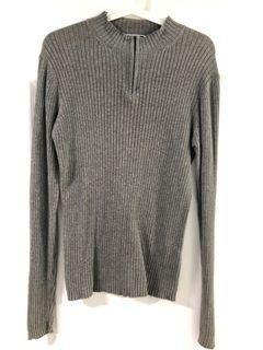 M size Long sleeve Giodano Grey