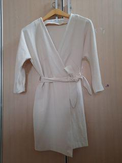 MANGO  broken white dress