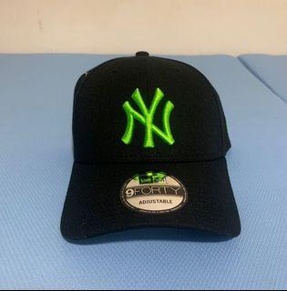 Newera 2021新款 9Forty NY logo 螢光綠