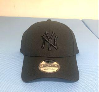 Newera 9Forty NY logo 全黑款