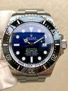 Rolex 126660 116660 Deep sea blue