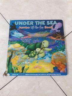 Under The Sea: Jumbo Lift-The-Flap Book !!not for fussy buyers!!