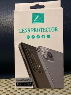 ZK iPhone 12 9H高清鏡頭保護殼