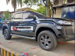 2021 toyota hilux conquest style fender flare