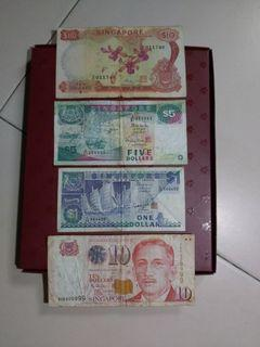4 notes for $50