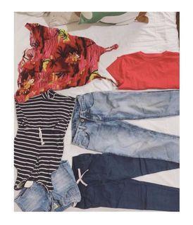 6 pc kids girls clothing