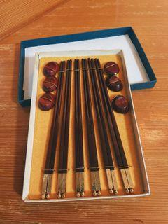 筷子禮盒/一盒70/兩盒150 附筷架