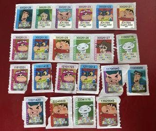 7-11 印花 22個/$6 換購 蠟筆小新 積木小店舖 Crayon  Shinchan 換購日期至 11/6/2021