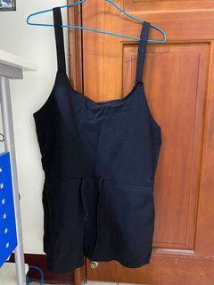 韓製吊帶褲
