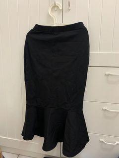 黑色長裙 魚尾裙
