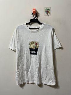 正韓 MAC口紅薯條短袖T恤