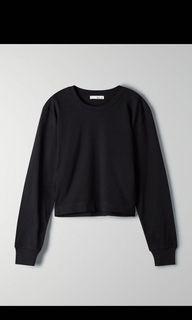Aritzia Weekend Black Shirt