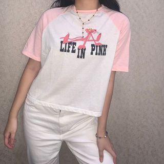 Bershka x Pink Panther Tee
