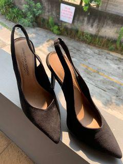 Black Heels Christian Siriano