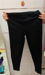 Black Jeggings Wanita / Celana Jeans Legging [Preloved]