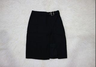Black skirt korea | rok wanita import