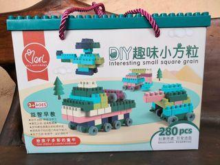 Block lego isi 280pcs SALE 90.000 nett
