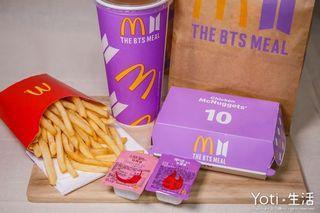 BTS聯名麥當勞