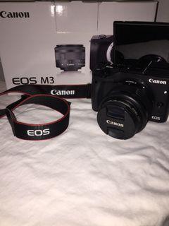 Canon Eosm3 Black