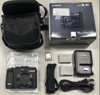 Canon Powershot G16數位相機