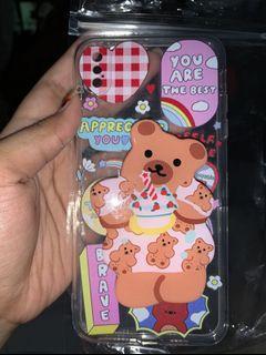 Case XS MAX with pop socket bear, aslinya lucuu bgt.