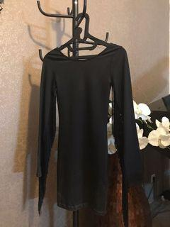 DIVIDED black dress