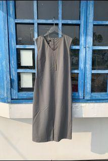 「全新」DKNY 設計師款剪裁洋裝