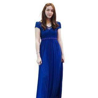 Dress Biru Envy Collection Party DR16058L