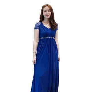 Dress Biru Envy Collection Party DR16015LBR