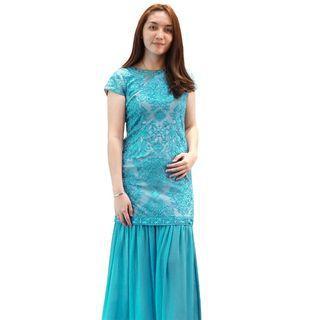 Dress Biru Envy Collection Party DR1951BR