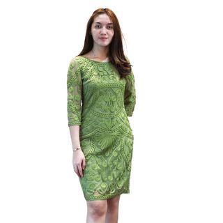 Dress Hijau Envy Collection Party DR2391HJ