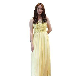 Dress Kuning Envy Collection Party DR1135AKU