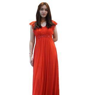 Dress Merah Envy Collection Party DR16045LMR