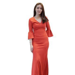 Dress Merah Envy Collection Party DR1009MR