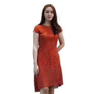 Dress Oranye Envy Collection Party DR2410OR