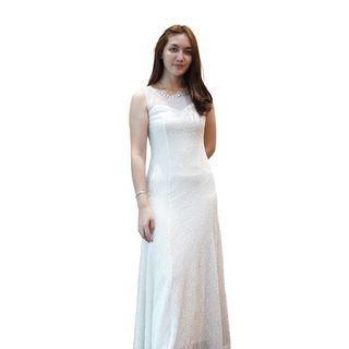 Dress Putih Envy Collection Party DR16251LPU