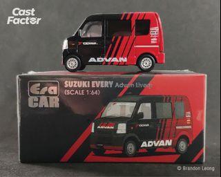 ERA CAR - 1:64 Suzuki Every ADVAN Livery