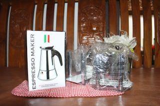 Espresso Maker NEW + Bonus