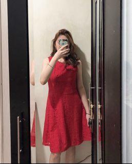et cetera red dress