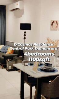 🔥GOING FAST🔥4 Bedroom unit Damansara