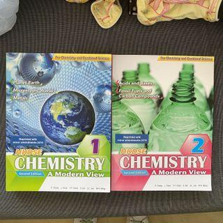 HKDSE Chemistry A Modern View (Book 1) & (Book2)