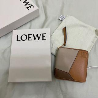 (急售)Loewe puzzle拼色短夾(9.8成新)
