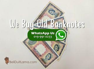 Malaya Malaysia Old Notes Buyer
