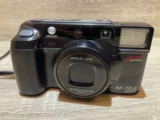MINOLTA AF-TELE SUPER 美能達底片機  傻瓜相機 早期相機 底片型照相機 底片相機 底片型相機零件機  相機